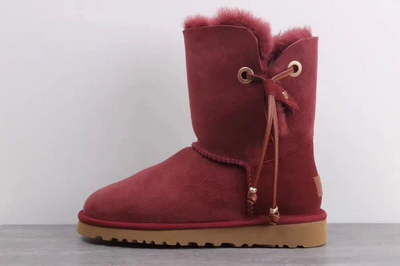 Ugg Boots Womens UGG 1017496 Red Wine