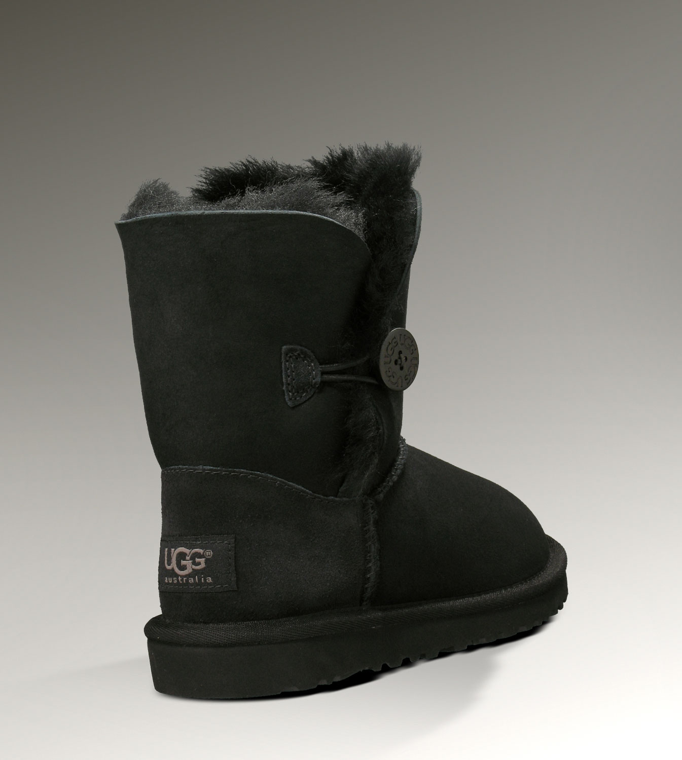 UGG Bailey Button 5991 Black Boots