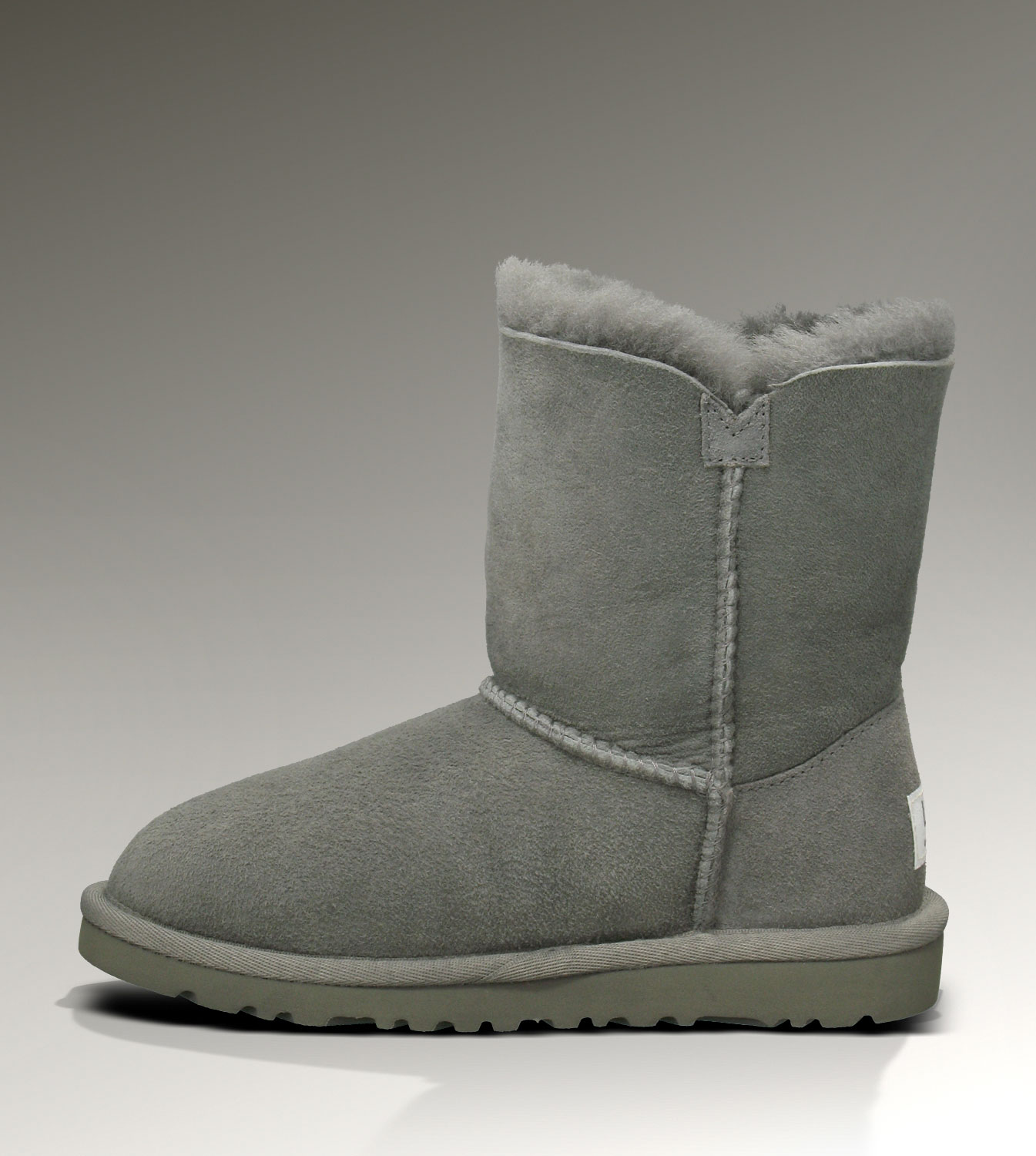 UGG Bailey Button 5991 Grey Boots