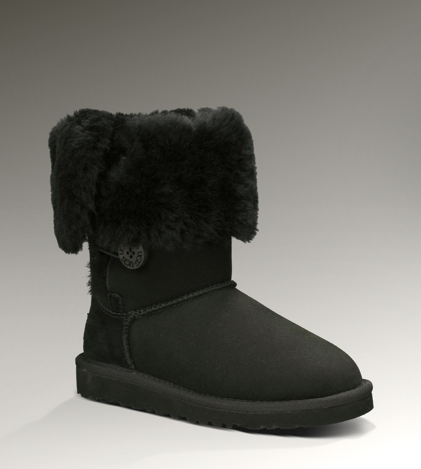 UGG Bailey Button Triplet 1962 Black Boots