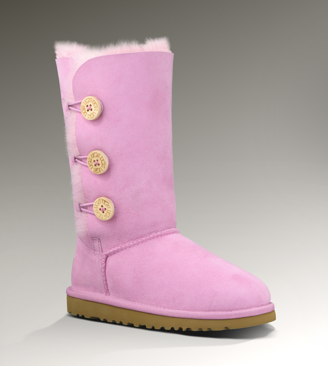 375a2ec26eb UGG Bailey Button Triplet 1962 Pink Boots [UGG151012-055] - $100.00 ...
