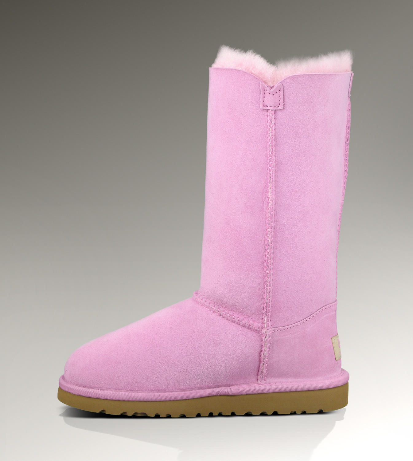 UGG Bailey Button Triplet 1962 Pink Boots