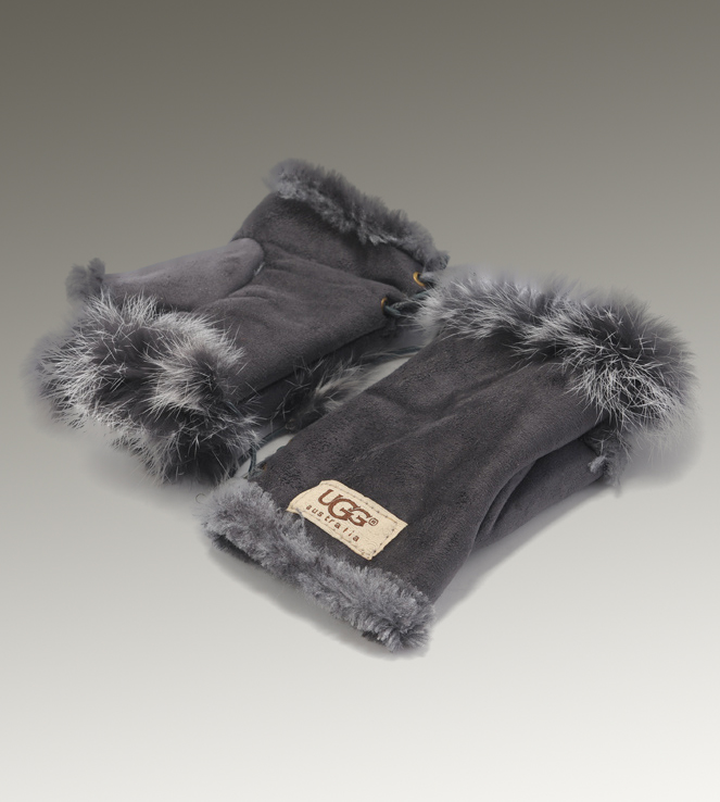 UGG Fingerless 6200 Grey Glove