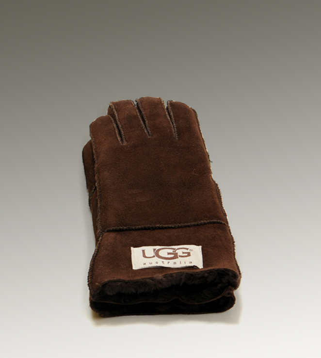 UGG Turn Cuff 6740 Chocolate Glove