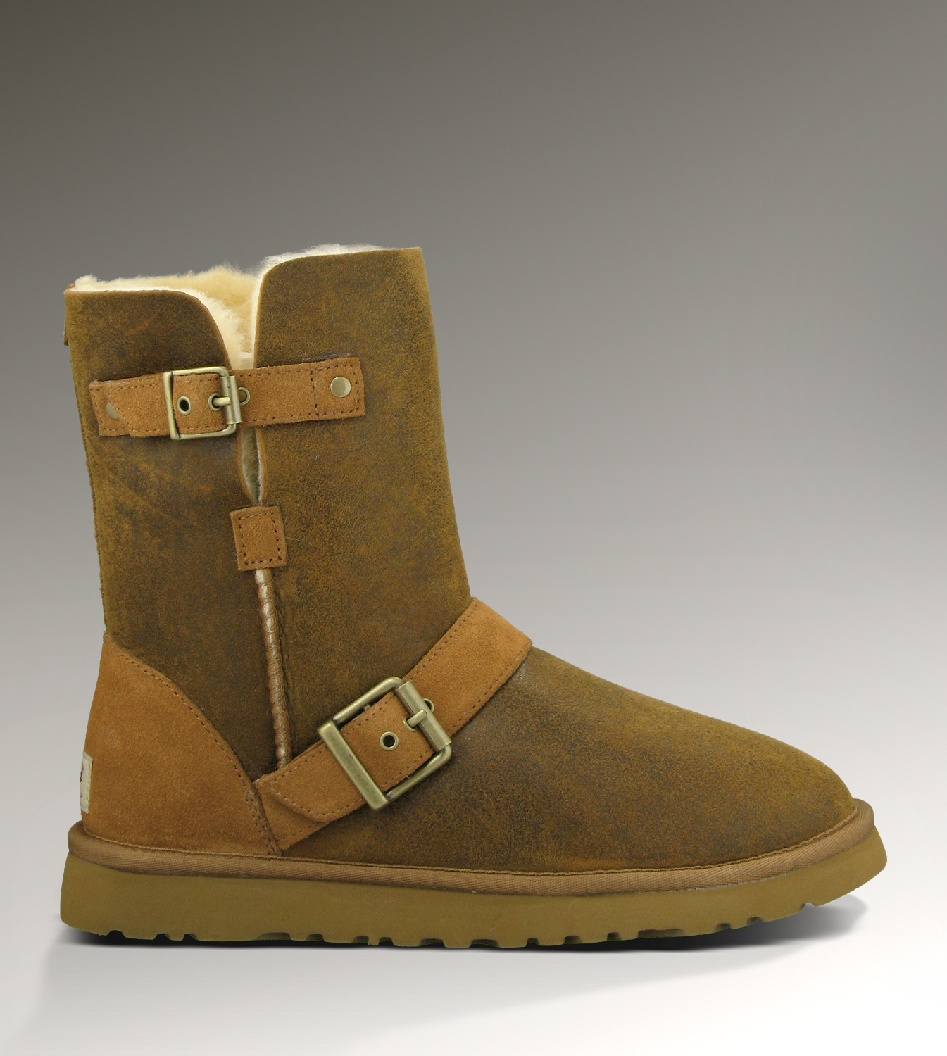 UGG Classic Short Dylyn 1001202 Jacket Chestnut Boots