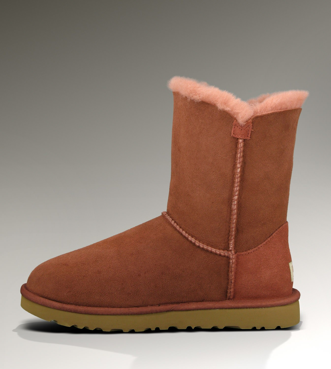 UGG Bailey Button 5803 Auburn Boots