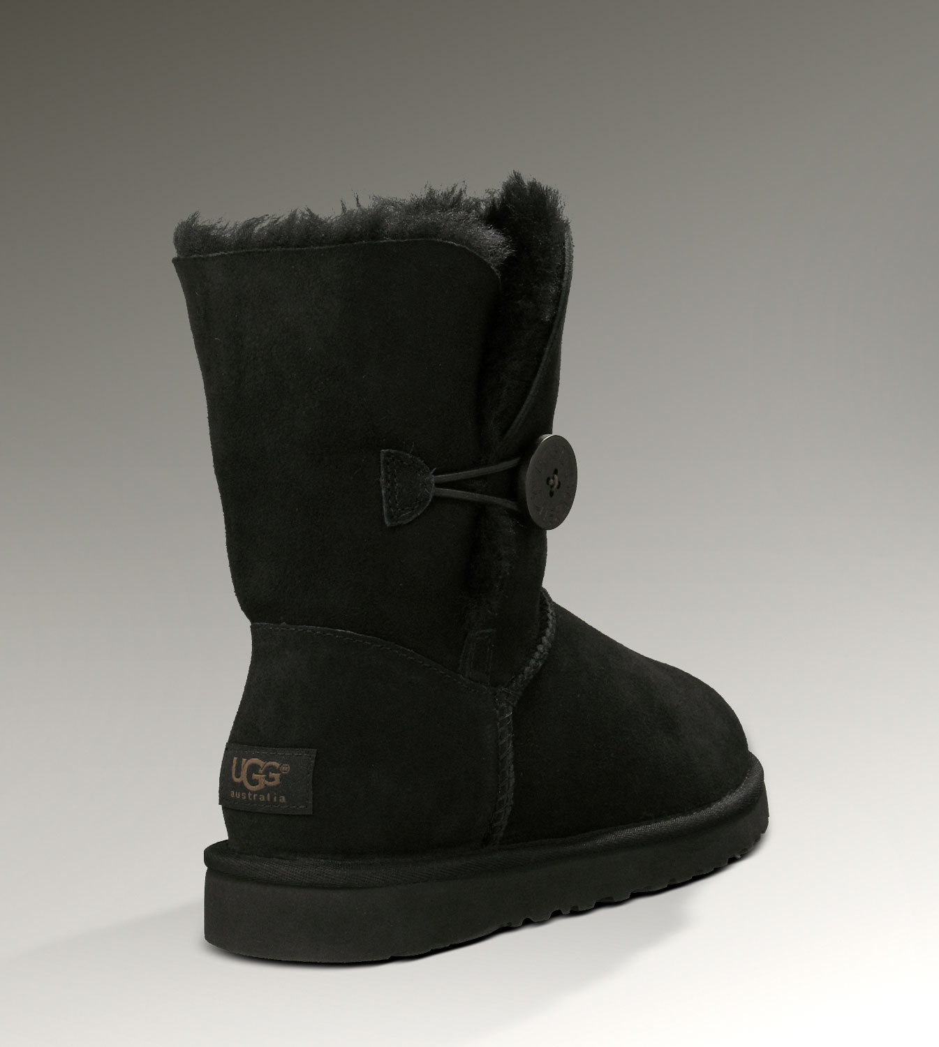 UGG Bailey Button 5803 Black Boots