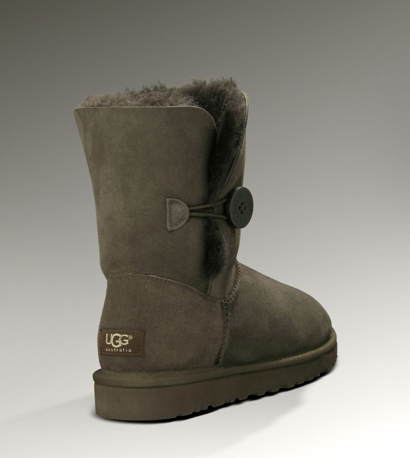 UGG Bailey Button 5803 Chocolate Boots