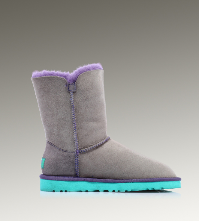 UGG Bailey Button 5803 Grey Boots