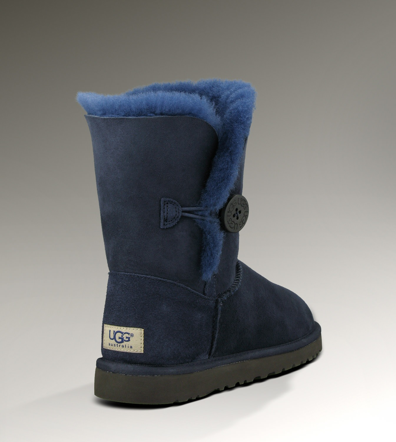 UGG Bailey Button 5803 Navy Boots
