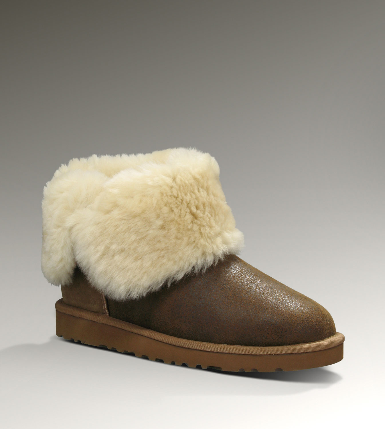 UGG Bailey Button Bomber 5838 Jacket Chestnut Boots