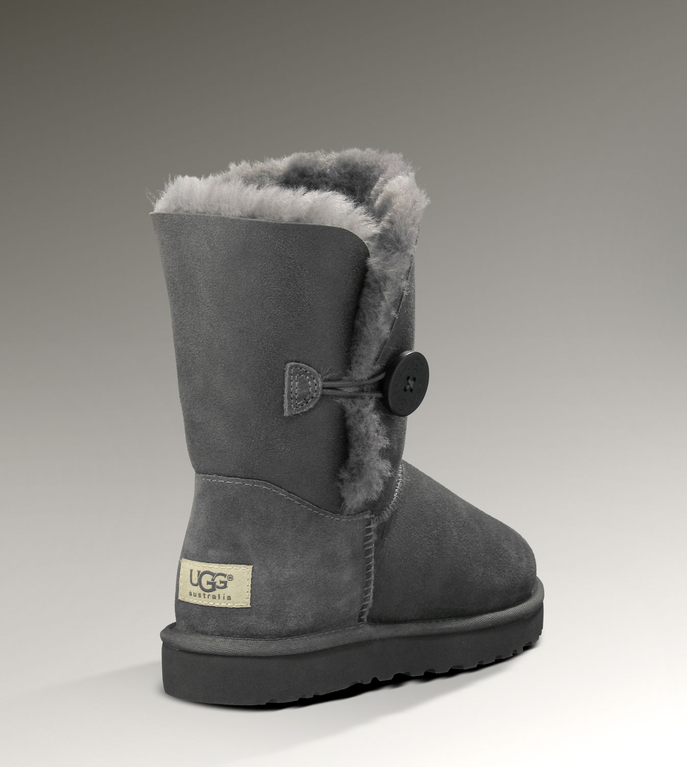 UGG Bailey Button Bomber 5838 Jacket Grey Boots