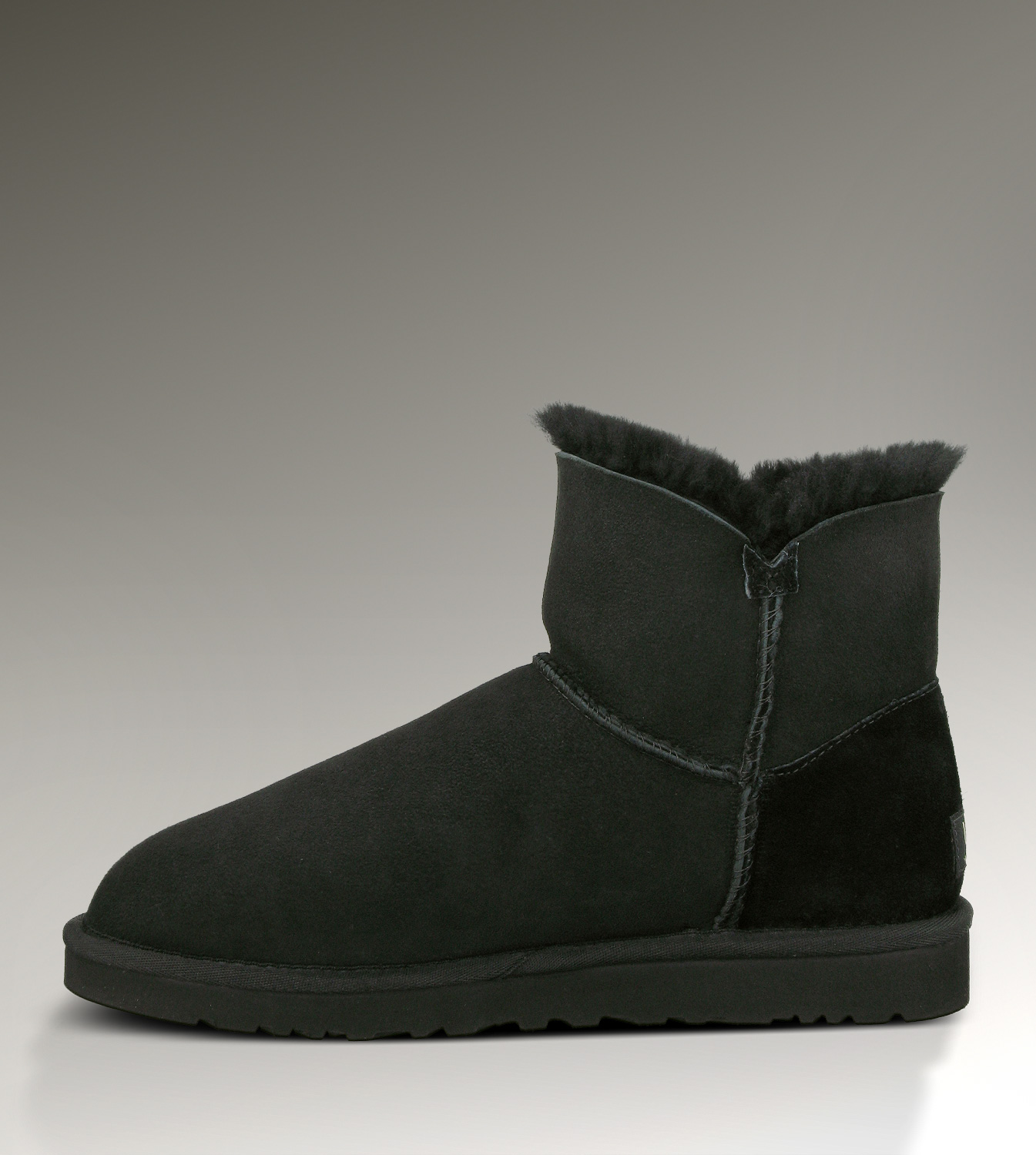 UGG Bailey Button Mini 3352 Black Boots