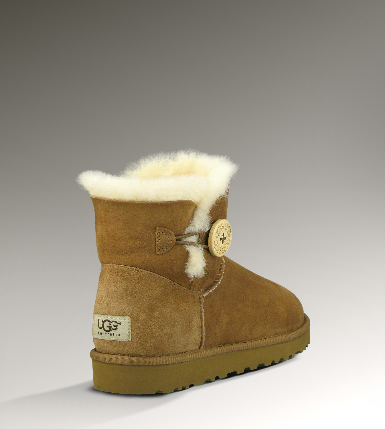 UGG Bailey Button Mini 3352 Chestnut Boots