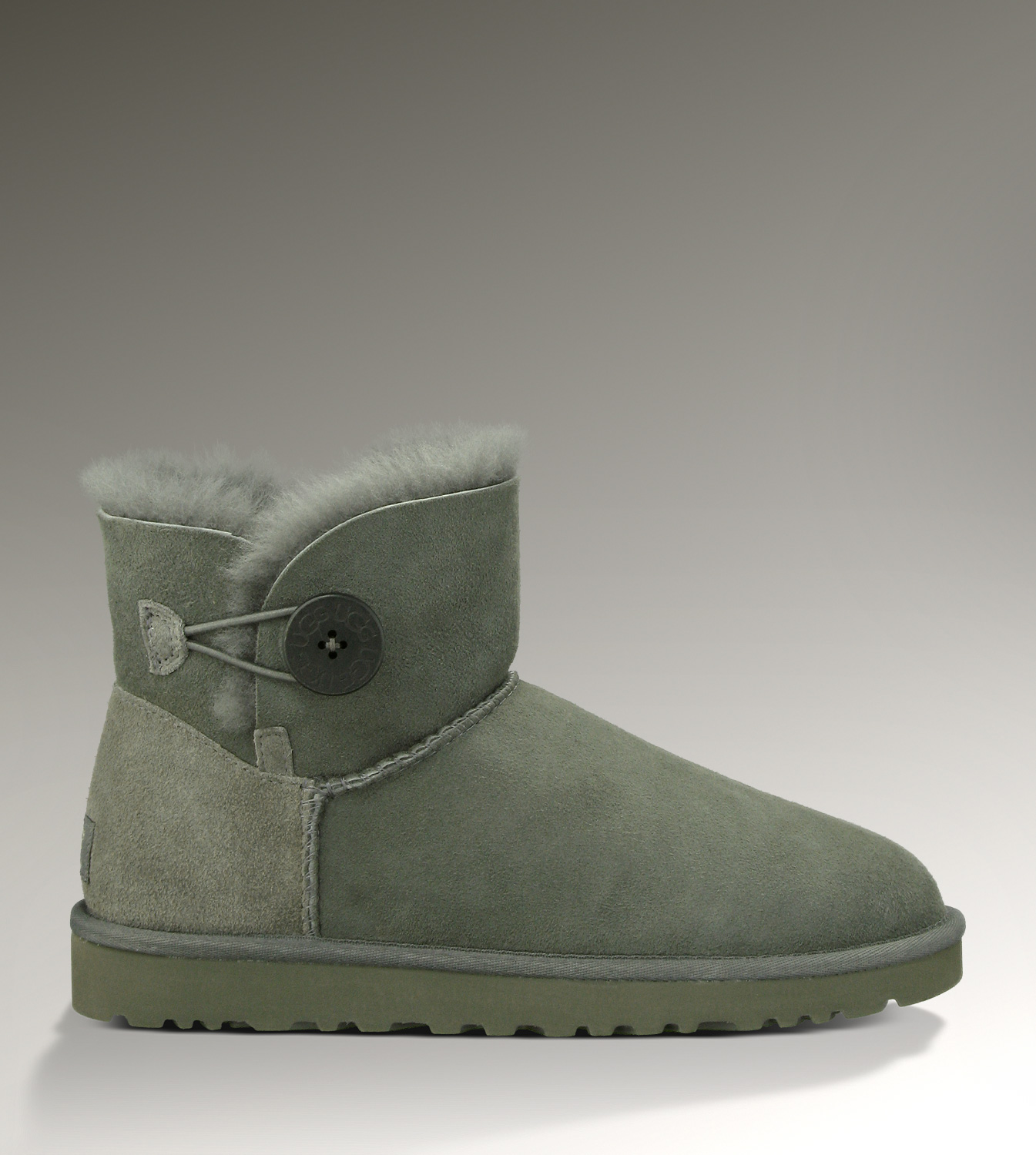 UGG Bailey Button Mini 3352 Grey Boots