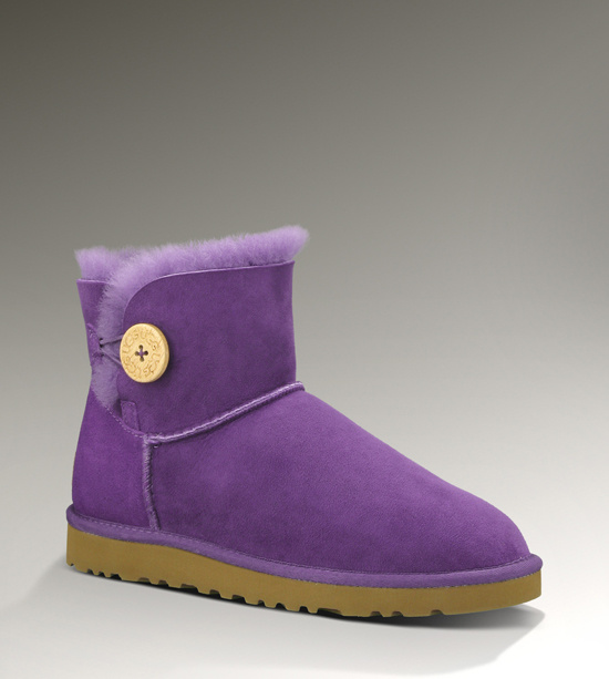 UGG Bailey Button Mini 3352 Purple Boots