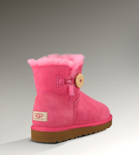 UGG Bailey Button Mini 3352 Rose Boots