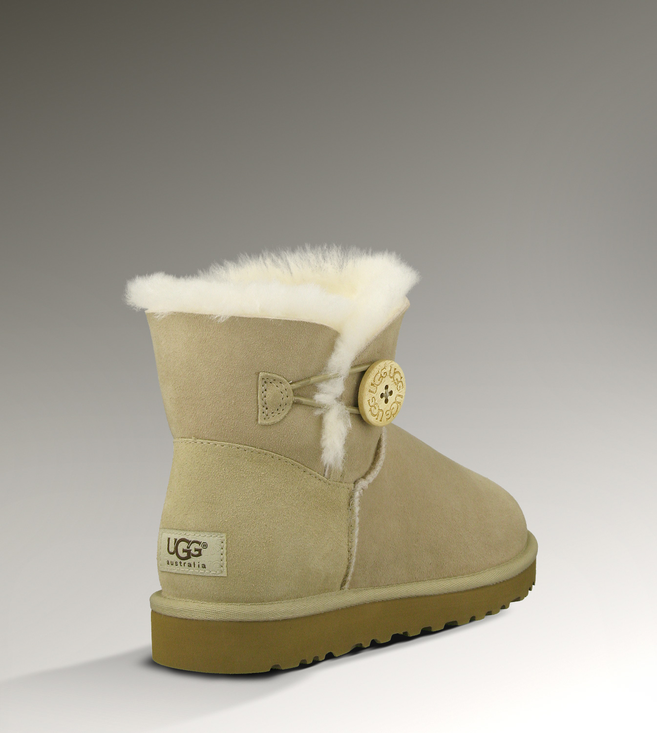 UGG Bailey Button Mini 3352 Sand Boots