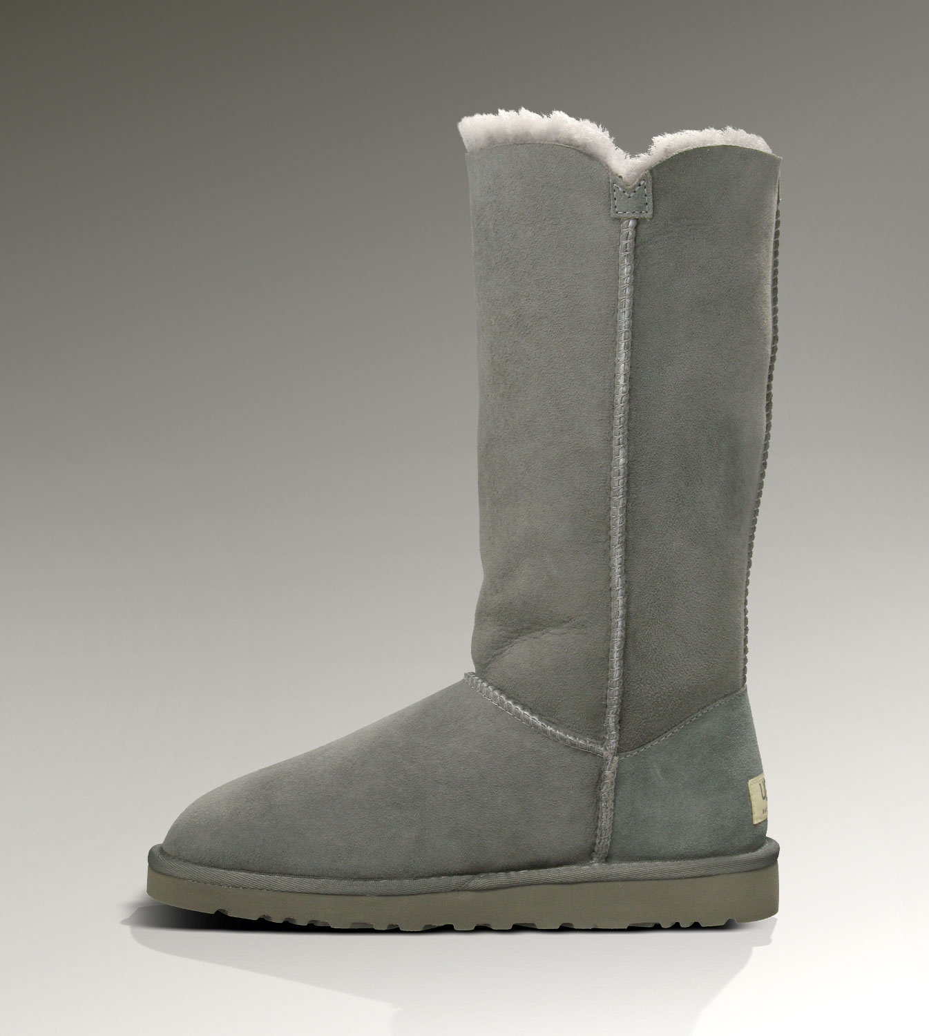 UGG Bailey Button Triplet 1873 Grey Boots