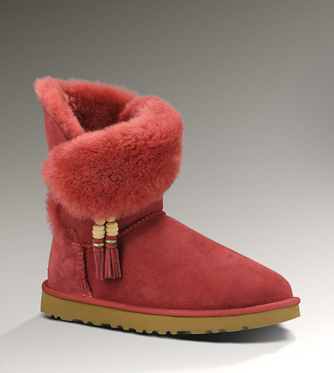 UGG Bailey Charms 1002153 Red Boots