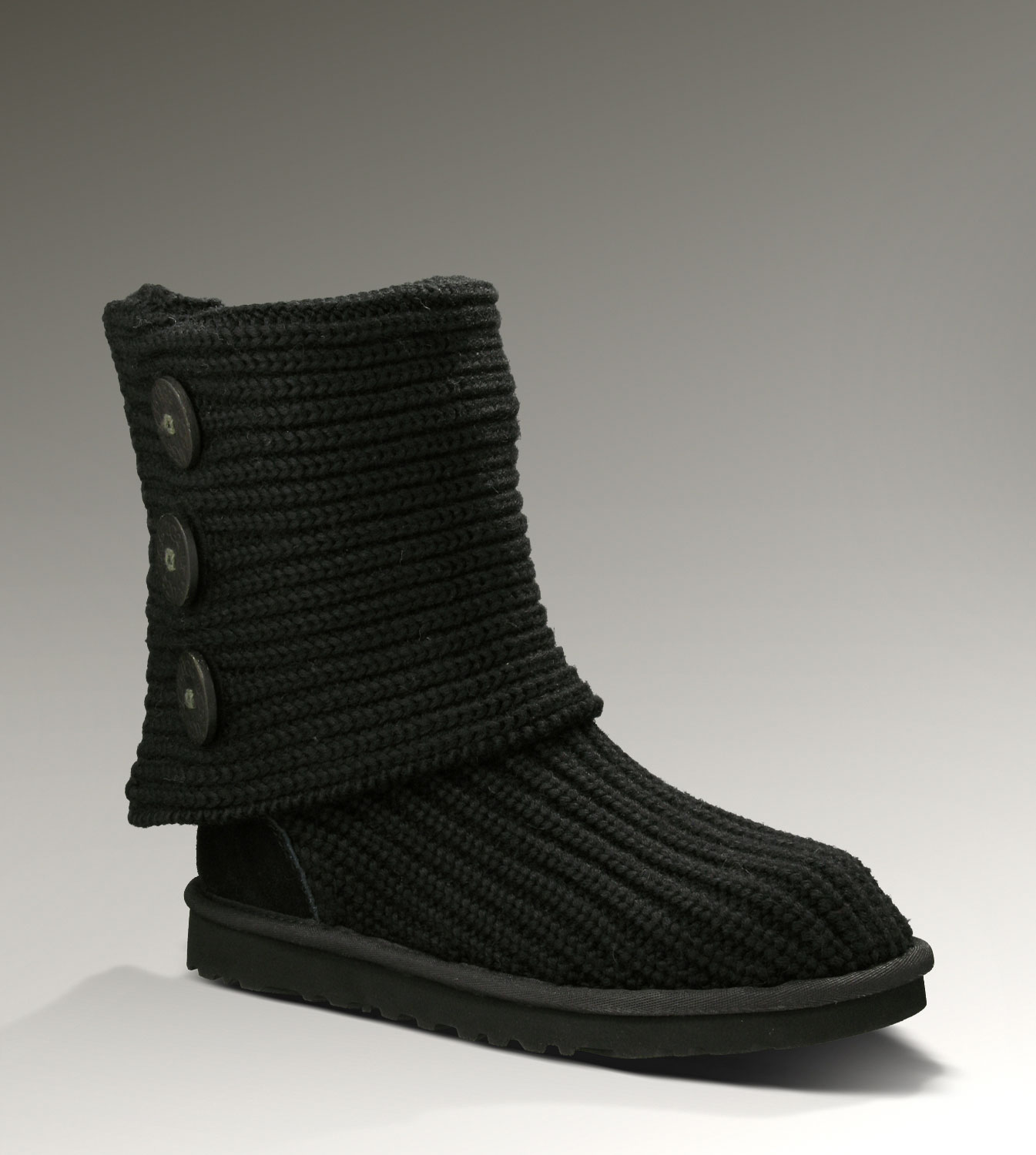 UGG Classic Cardy 5819 Black Boots