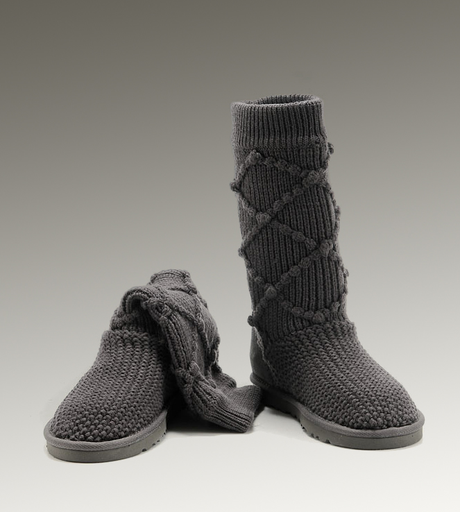 UGG Classic Cardy 5879 Grey Boots