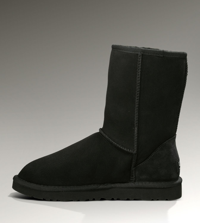 Ugg Classic Short 5825 Black Boots Ugg151012 108 69