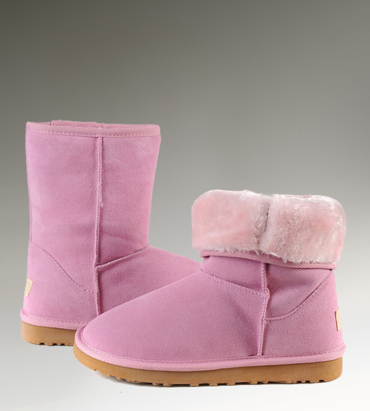 UGG Classic Short 5825 Pink Boots