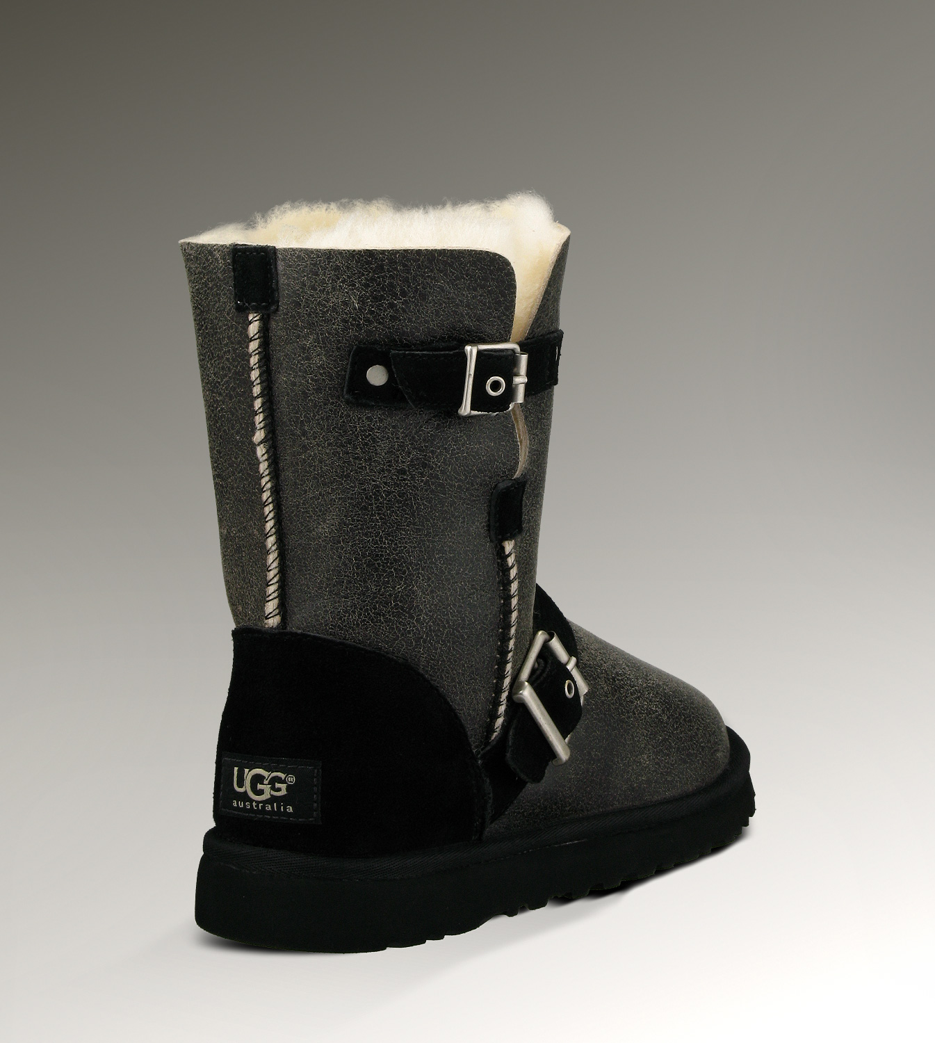 UGG Classic Short Dylyn 1001202 Jacket Black Boots