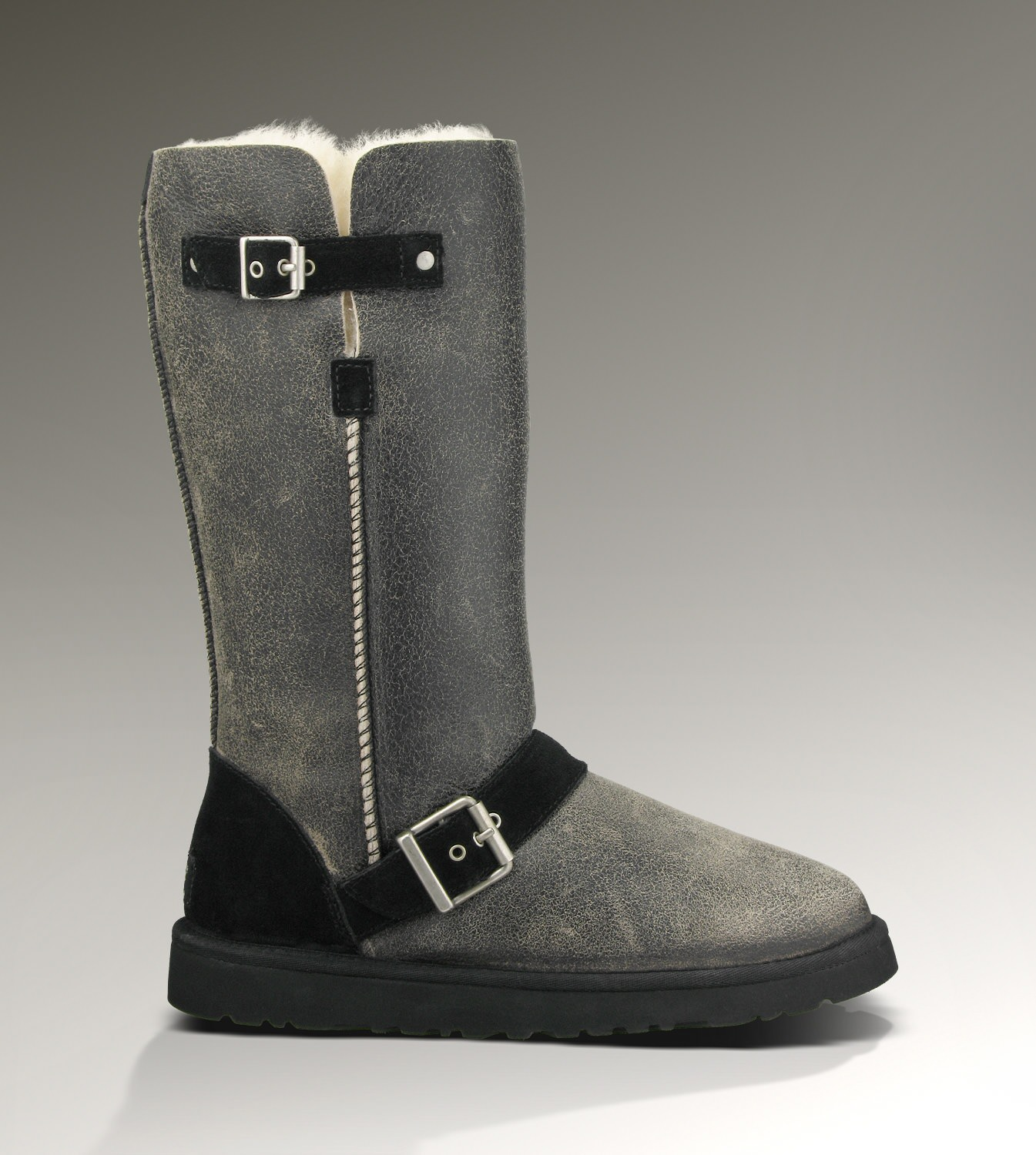 UGG Classic Tall Dylyn 1001204 Jacket Black Boots