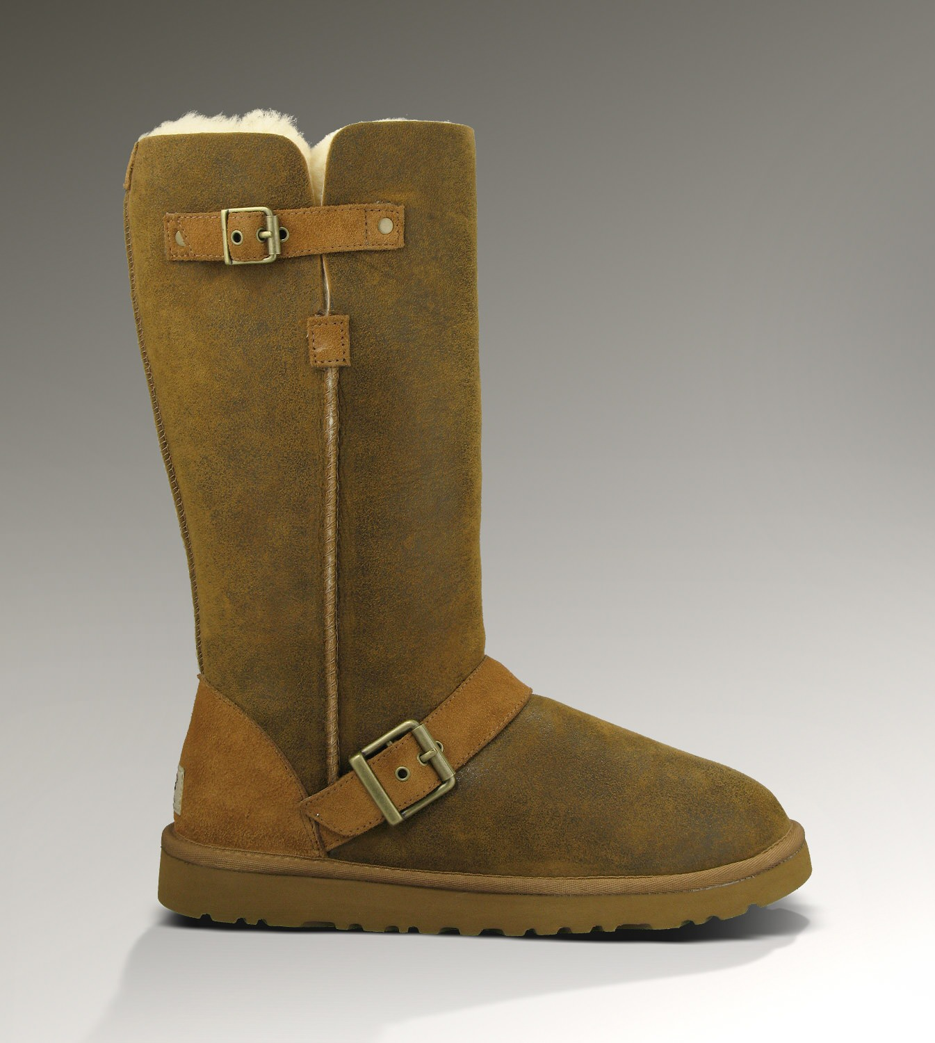 UGG Classic Tall Dylyn 1001204 Jacket Chestnut Boots