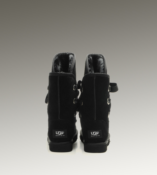 UGG Roxy Short 5828 Black Boots