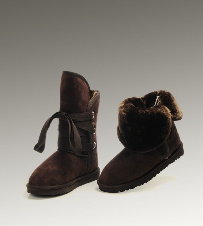 UGG Roxy Short 5828 Chocolate Boots