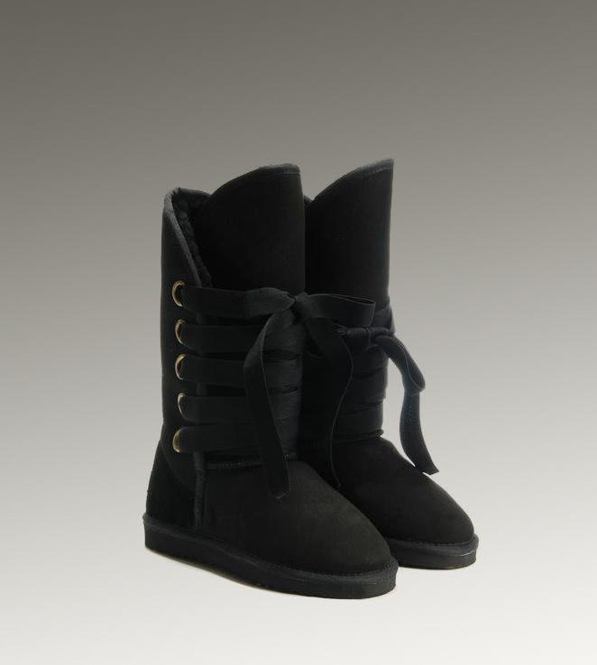 UGG Roxy Tall 5818 Black Boots