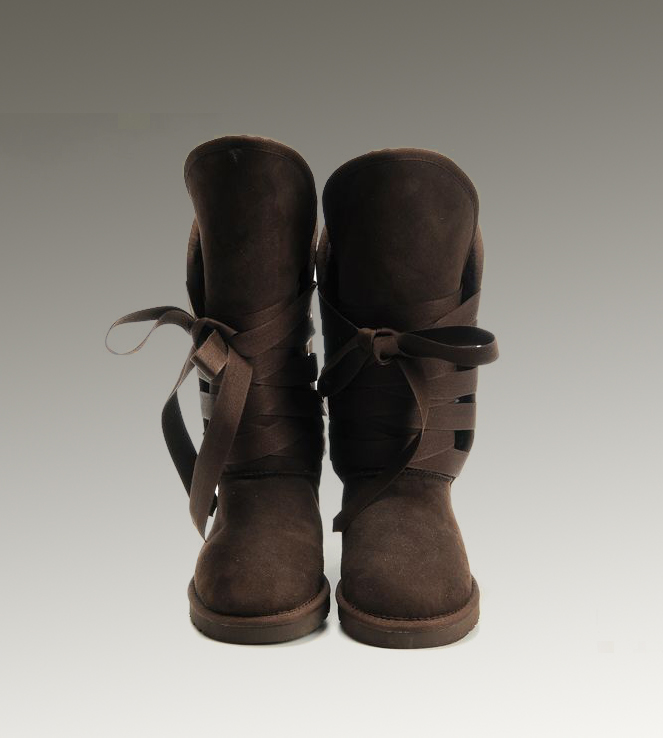 UGG Roxy Tall 5818 Chocolate Boots