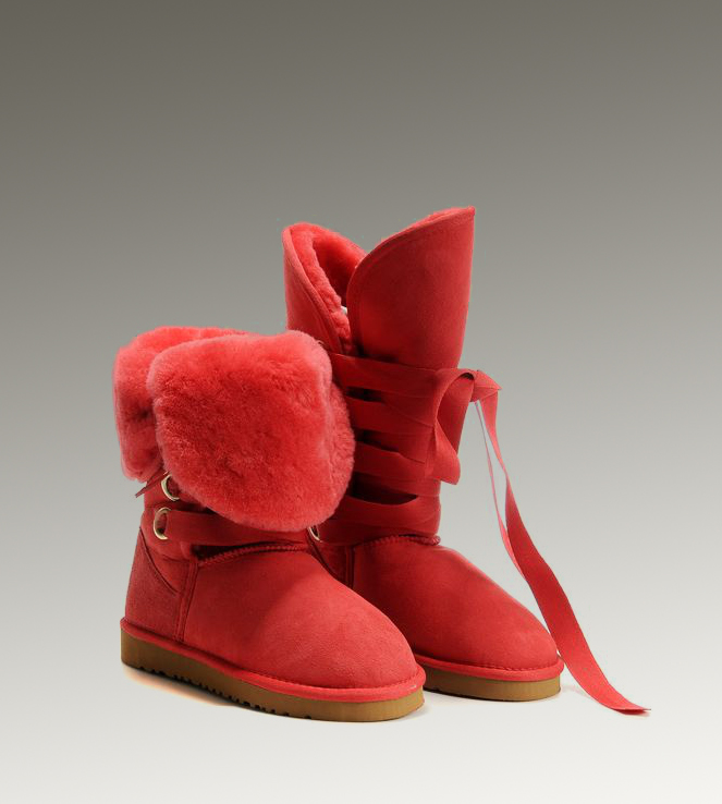 UGG Roxy Tall 5818 Red Boots