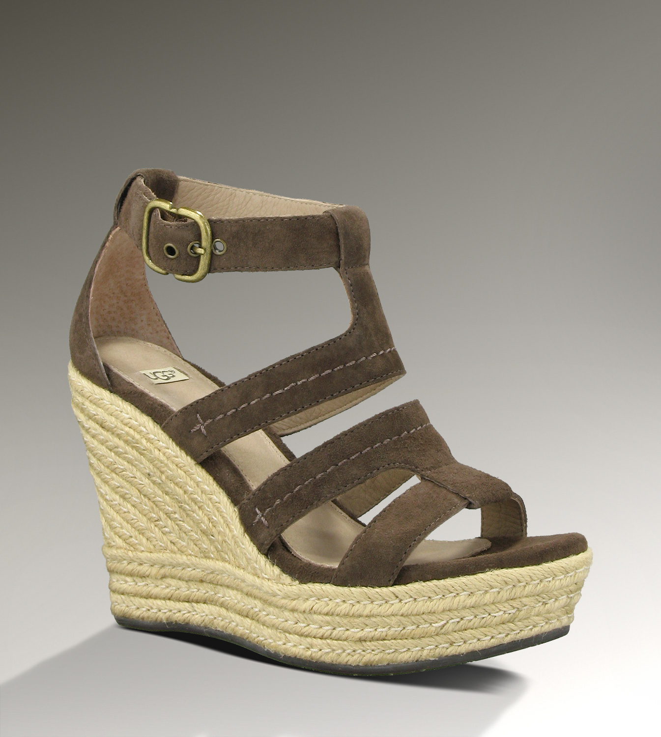 UGG Lauri 1000403 Chocolate Sandals