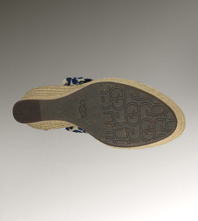 UGG Lucianna Marrakech 1002697 Blue Sandals