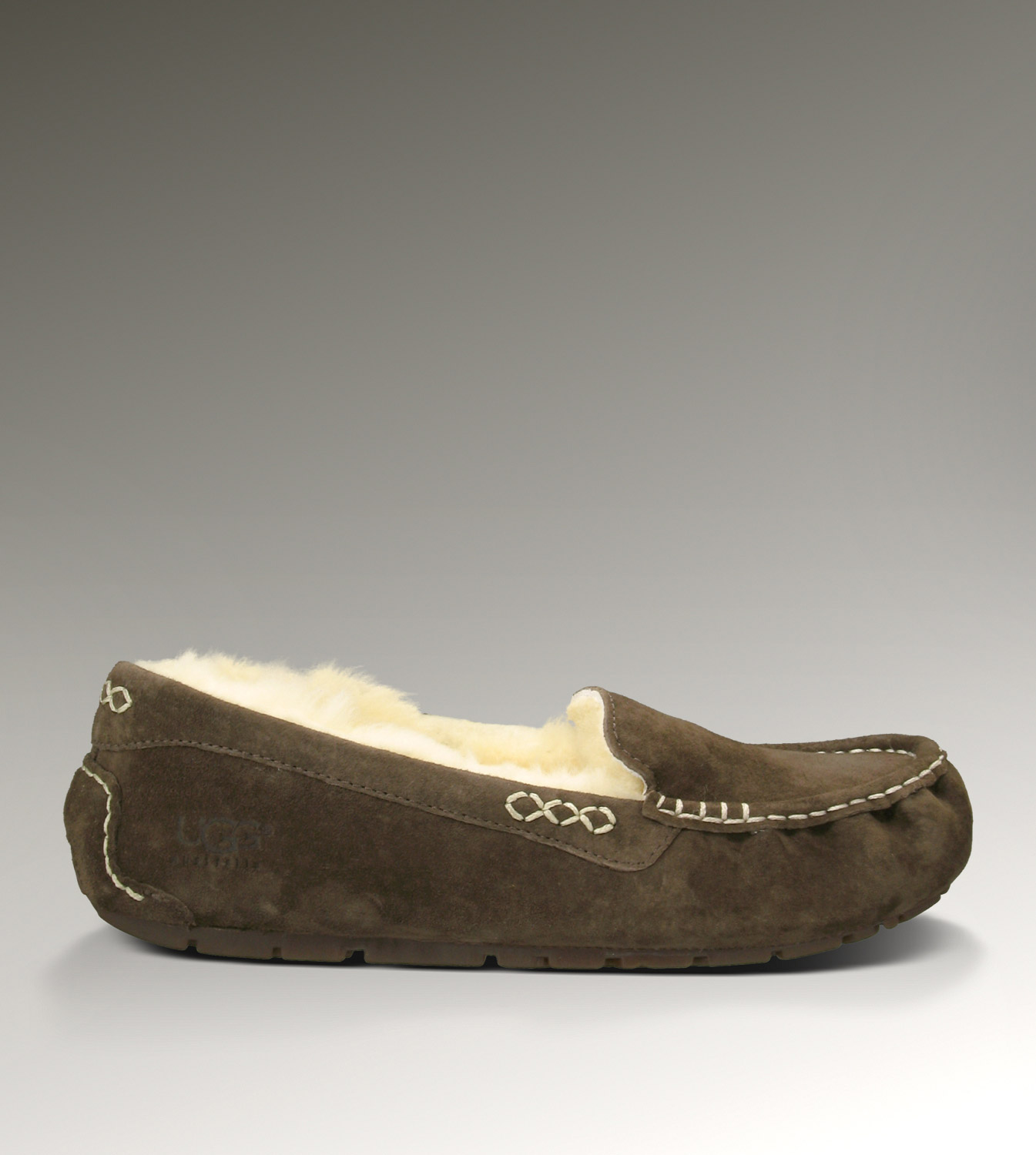 UGG Ansley 3312 Chocolate Slippers