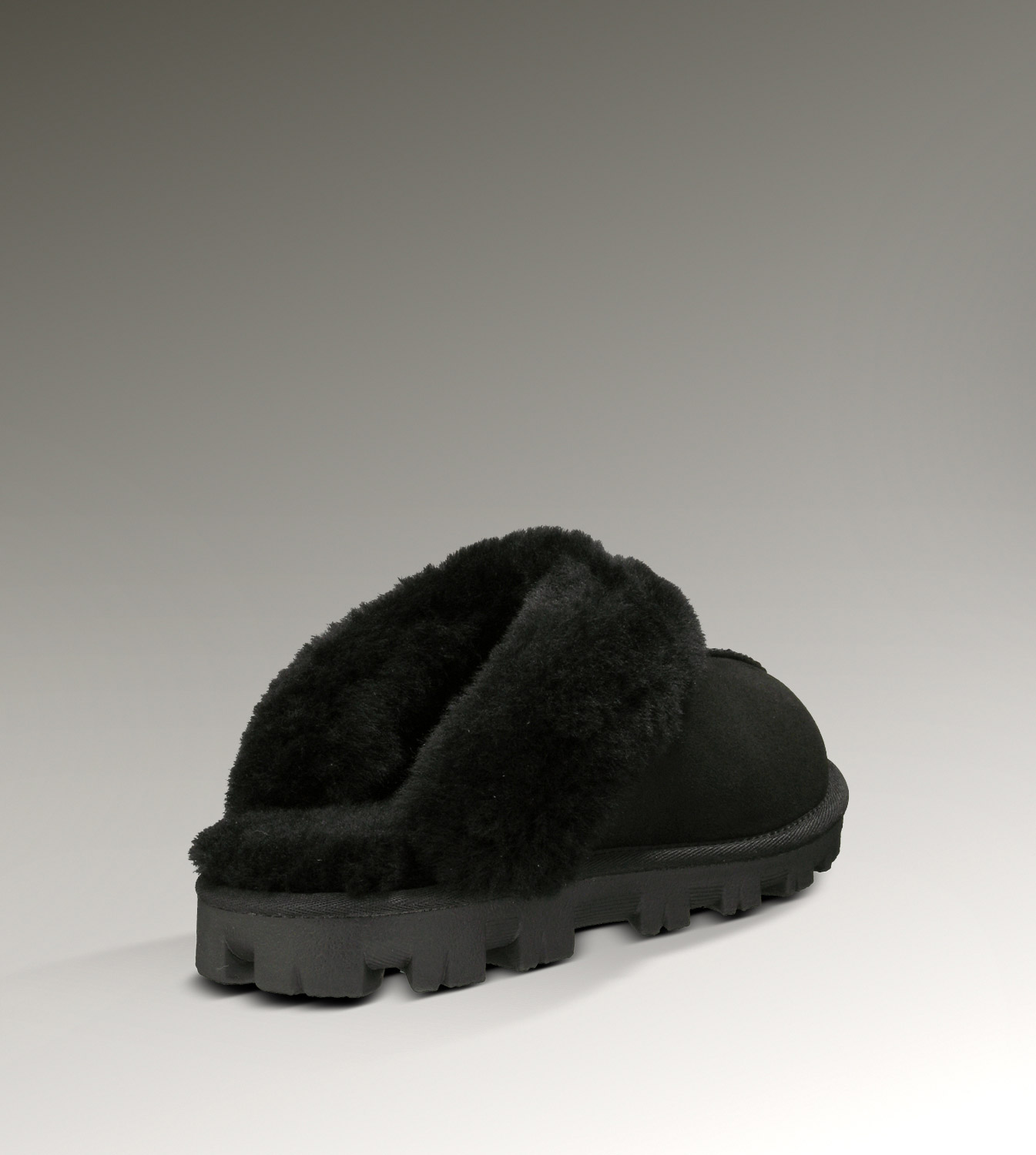 UGG Coquette 5125 Black Slippers