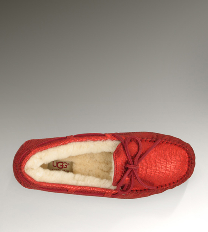 UGG Dakota 1002807 Red Slippers