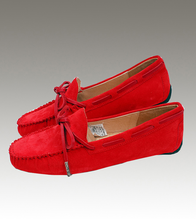UGG Dakota 1650 Red Slippers