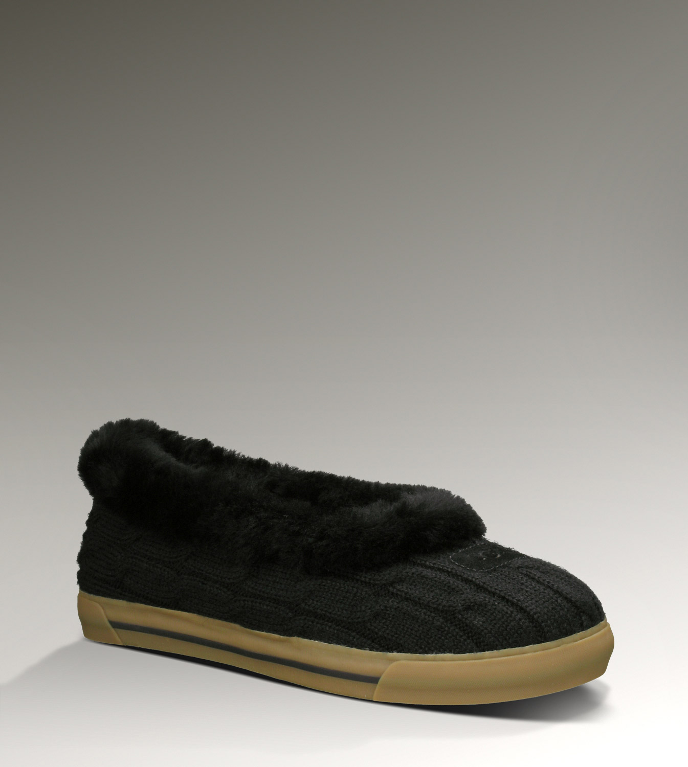 UGG Rylan Knit 3314 Black Slippers