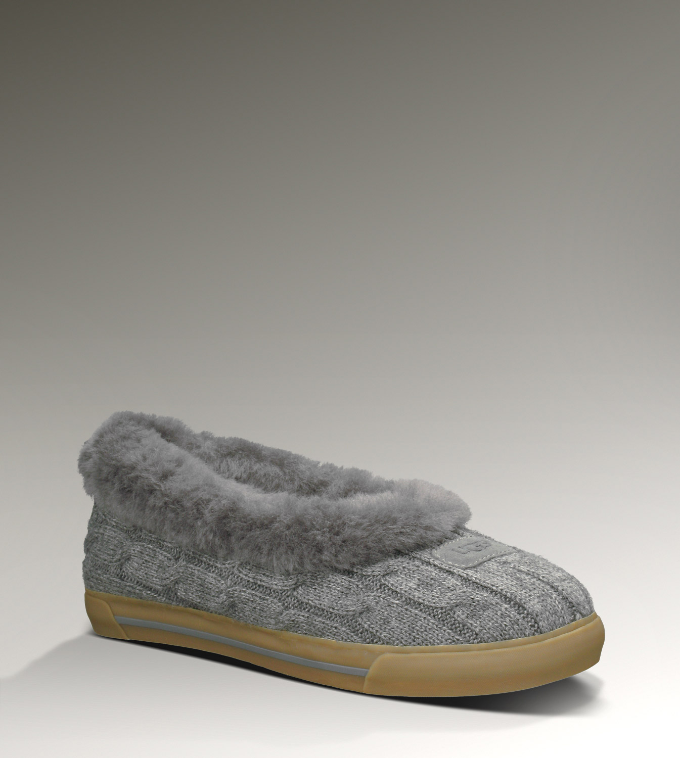 UGG Rylan Knit 3314 Grey Slippers
