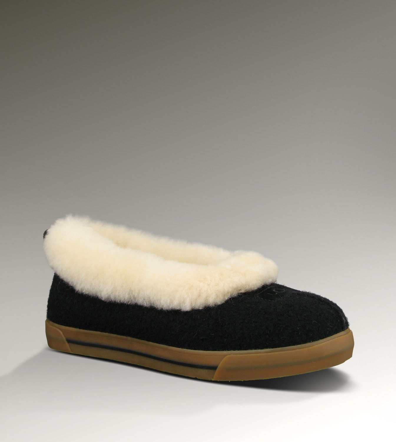 UGG Rylan Wool 1001633 Black Slippers