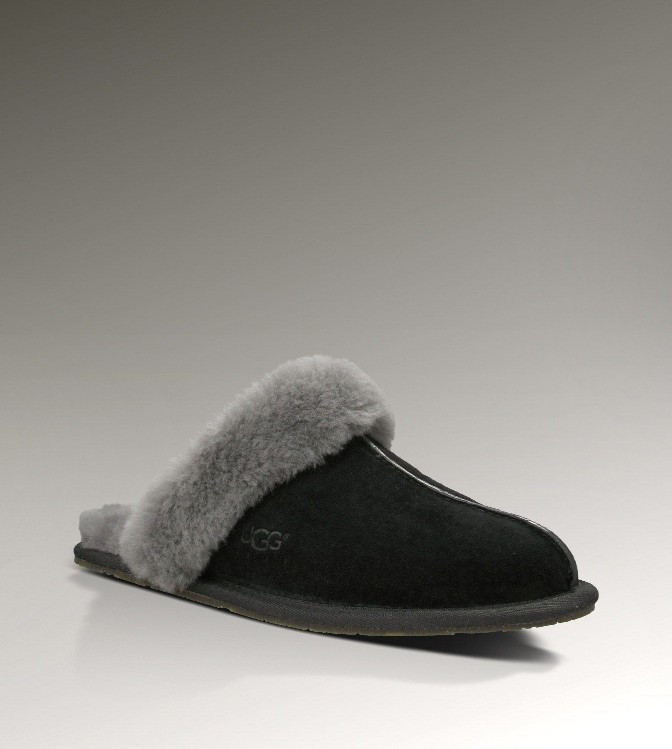 UGG Scuffette II 5661 Black Slippers