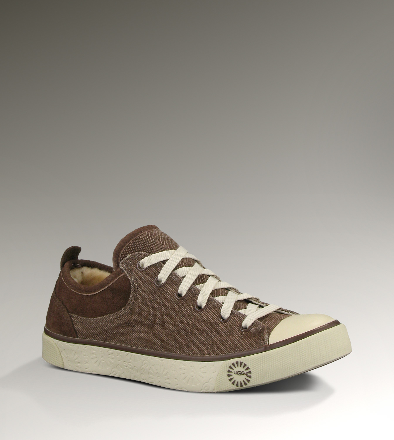 UGG Evera Canvas 1000452 Chocolate Sneakers