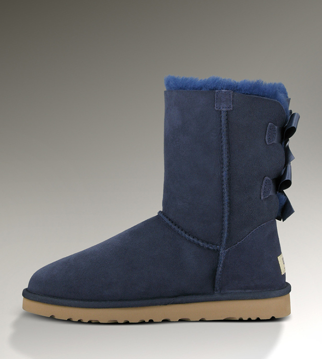 Ugg Bailey Bow 1002954 Blue Boots Ugg151012 003 145