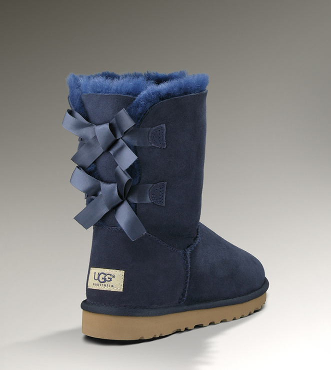 UGG Bailey Bow 1002954 Blue Boots