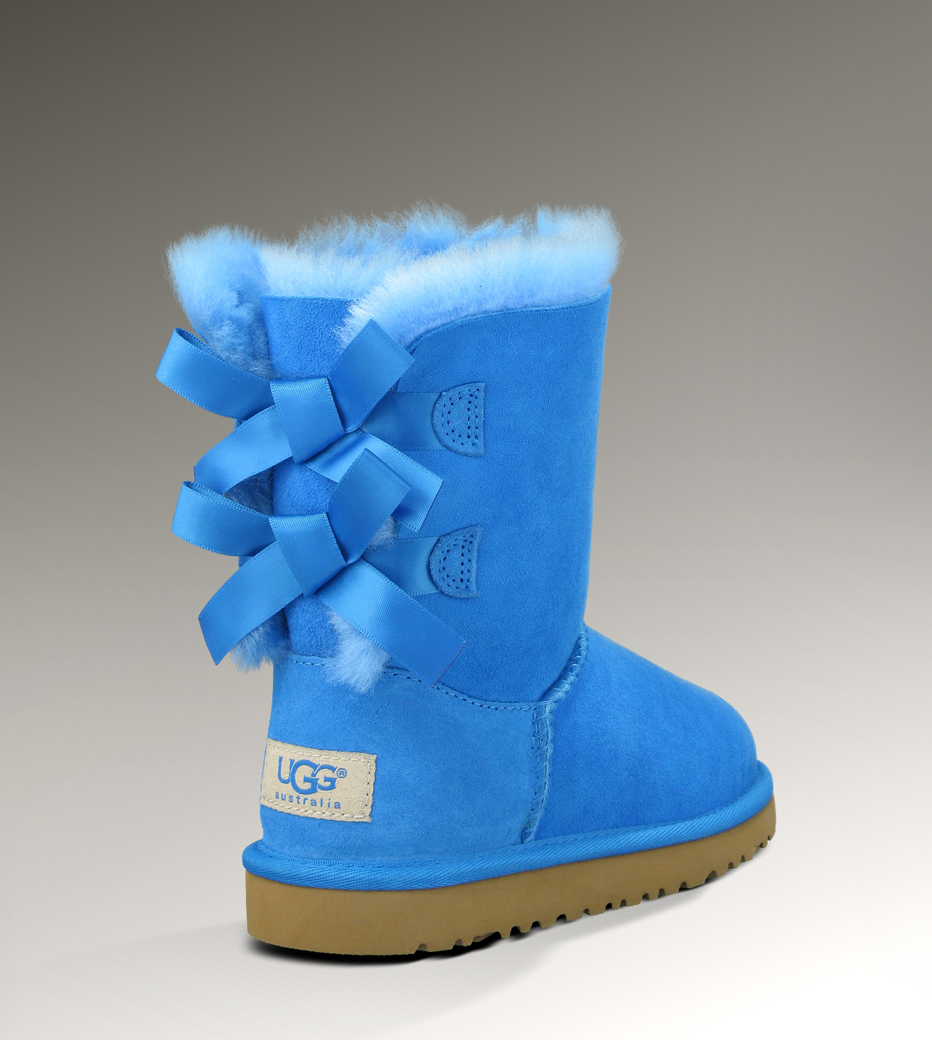 Ugg Bailey Bow 1002954 Blue Boots Ugg151012 005 145